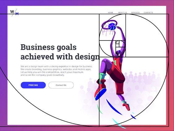 golden ratio in design layout