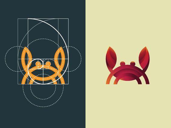 golden ratio of logo design