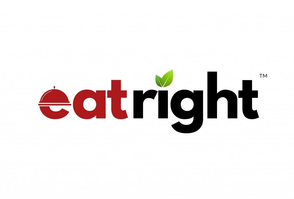 eat right logo branding