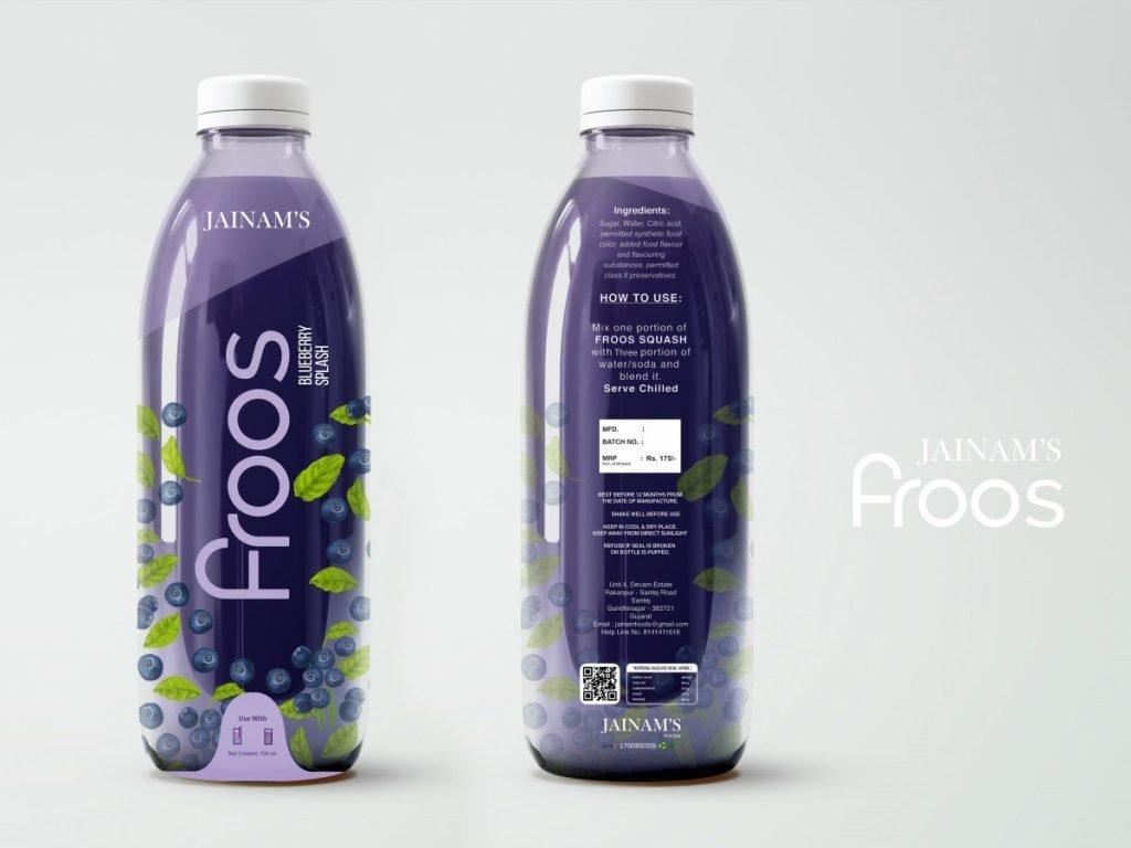 froos packaging design